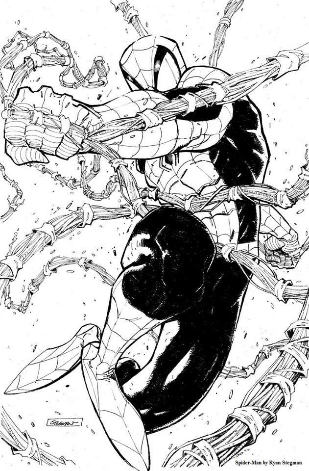 Spider-Man by Ryan Stegman *