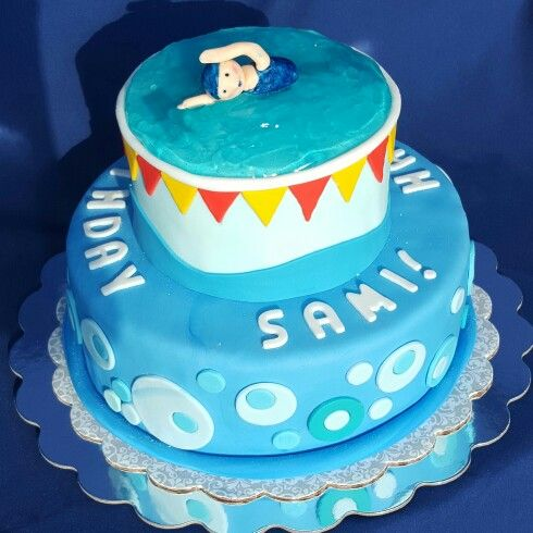 25 Best Ideas About Swimming Cake On Pinterest Swim Cake Swim Party Cupcakes And Swimming