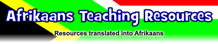 FREE Teaching Resources in Afrikaans - SparkleBox
