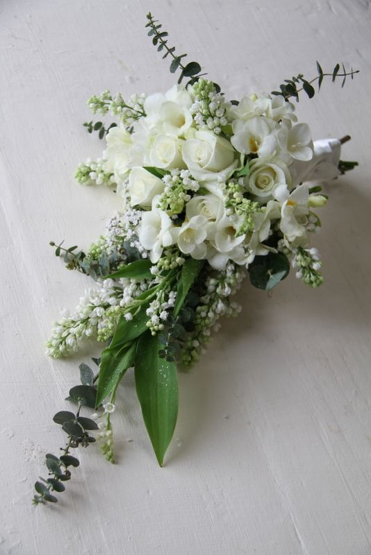 Image result for images bridal bouquets in white and teal