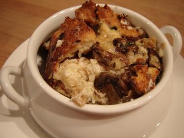 Mushroom bread pudding | Favorite Foods | Pinterest