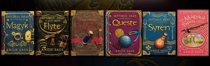 Septimus Heap: Worth Reading, Books Tv Movies, Fun Series, Books Worth, Awesome Books, Septimus Heap, Series Worth, Heap Series Another, Fun Read