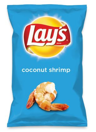 Wouldn't coconut shrimp be yummy as a chip? Lay's Do Us A Flavor is back, and the search is on for the yummiest flavor idea. Create a flavor, choose a chip and you could win $1 million! https://www.dousaflavor.com See Rules.