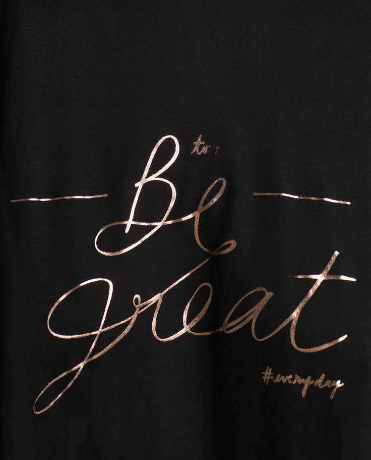 RIBBED TEXT T - SHIRT - View all - Woman - NEW IN | ZARA United States