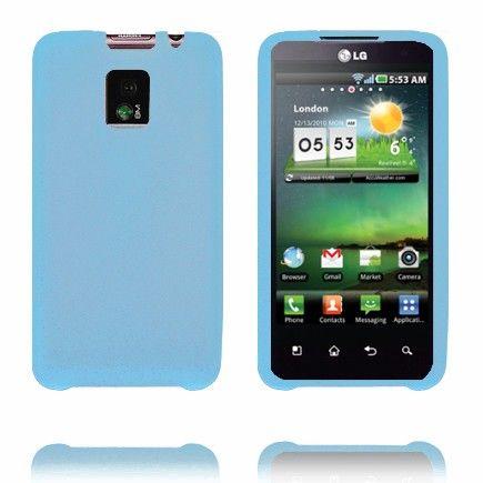 Soft Shell (Sininen) LG Optimus 2X Silikonisuojus
