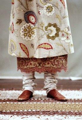 Indian textiles  - layers