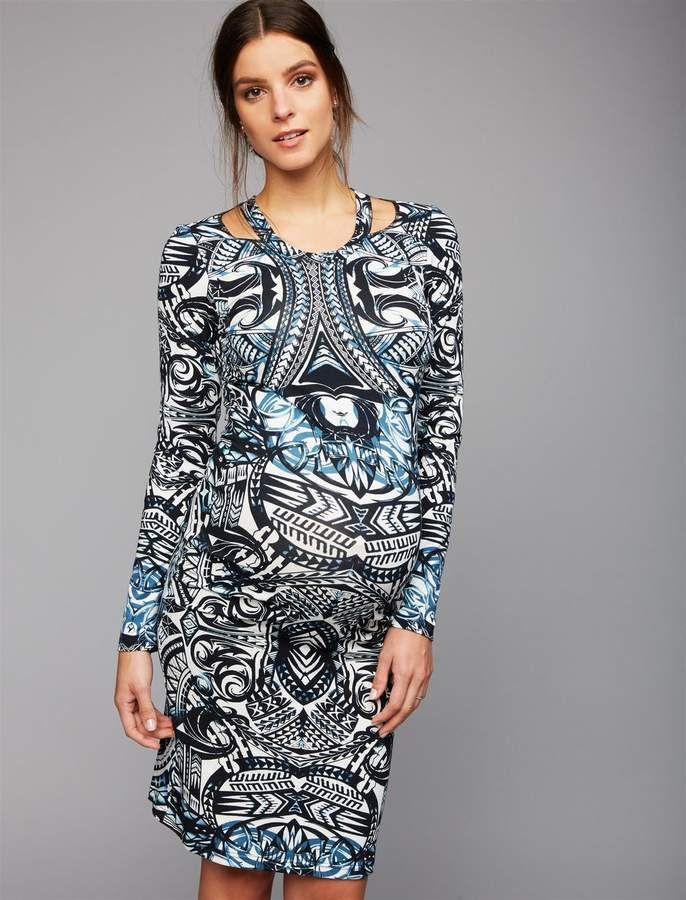 57b38ff49fbe4 Nicole Miller Pre & Post Pregnancy Maternity Dress.#ad | Cute ...
