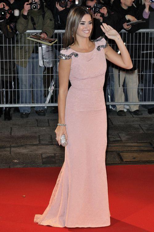 Vestido rosa palo. Penélope Cruz