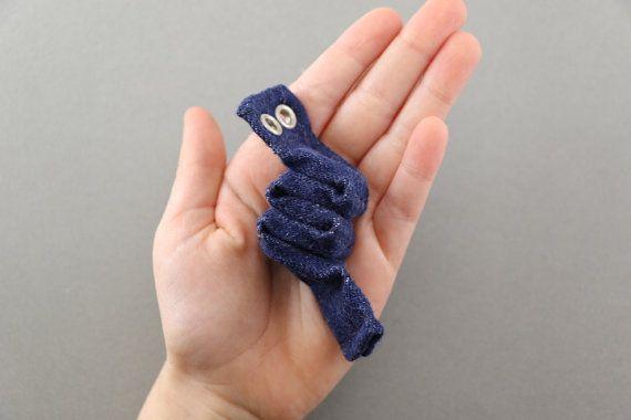 Magnet Worm Fidget Toy by TheFidgetyFlower on Etsy