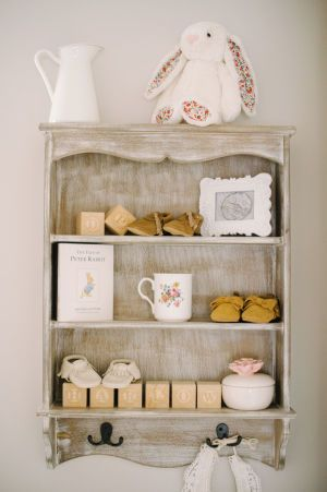 The sweetest details are wrapped up in this vintage inspired nursery designed by Convey the Moment. At first glance, it's all about the dreamy floral wallpaper but upon closer inspection you'll see small but mighty moments that speak to the