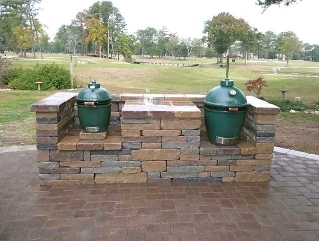 Beautiful DIY Table Plans For Large Big Green Egg