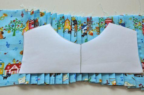 emma en mona: DIY hoe maak je plooien in een jurk of trui
