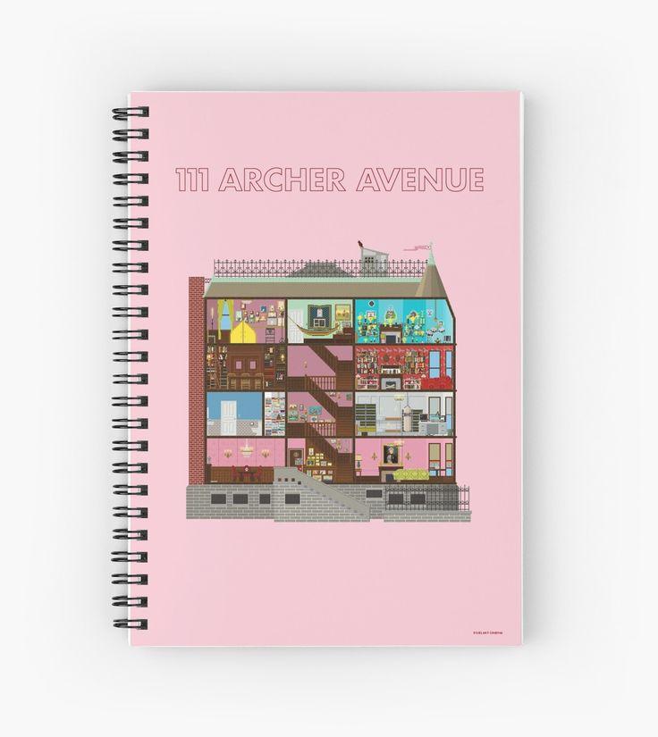 111 Archer Avenue from The Royal Tenenbaums by PixelArtCinema