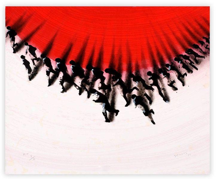 MudMedia Arte Contemporáneo - Obra gráfica de Juan Genov��s