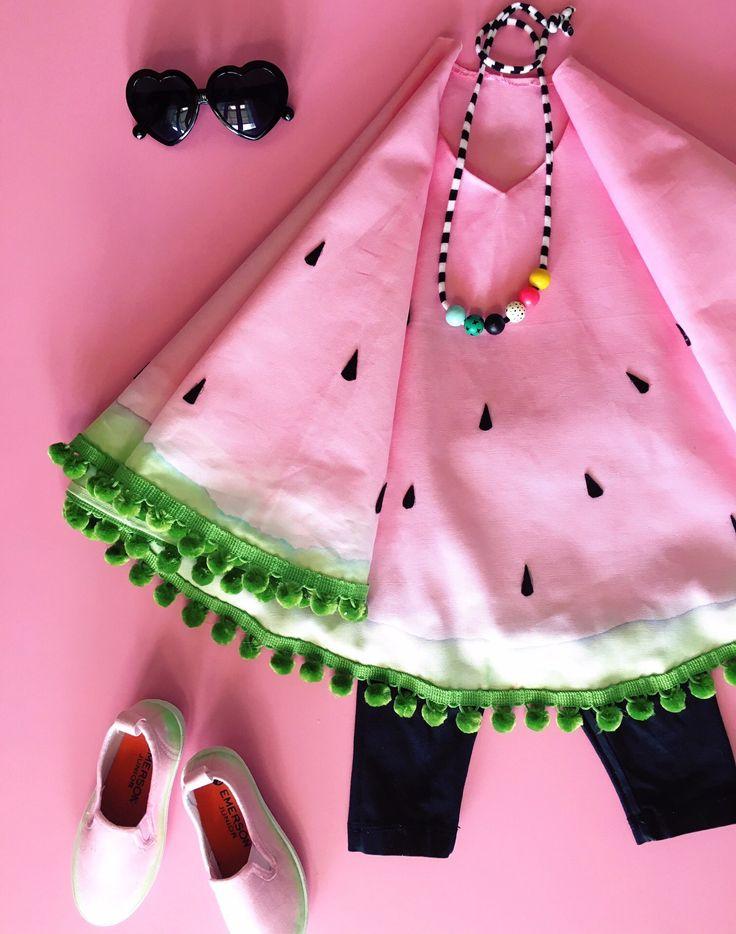 Watermelon costume DIY Halloween                                                                                                                                                                                 More
