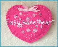 dutch colours: Easy valentine sweetheart tutorial and give away,