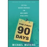 The First 90 Days: Critical Success Strategies for New Leaders at All Levels (Hardcover)By Michael Watkins