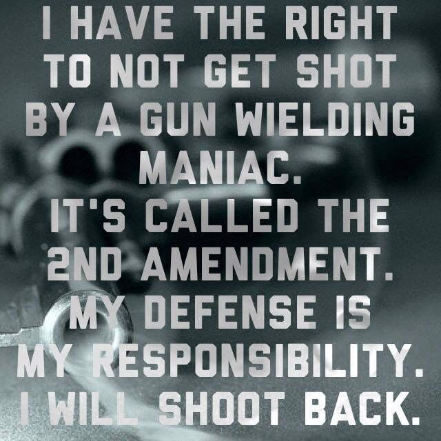 The right of the people to own guns