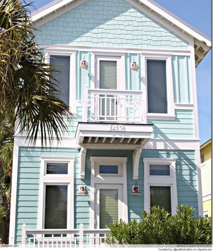 71 Best Beach Home Exterior Paint Colors Images On Pinterest Beach Homes Beach Cottages And