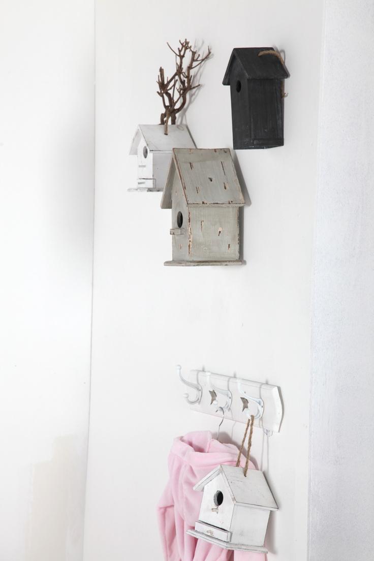 vogelhuisjes voor op de babykamer #babypark