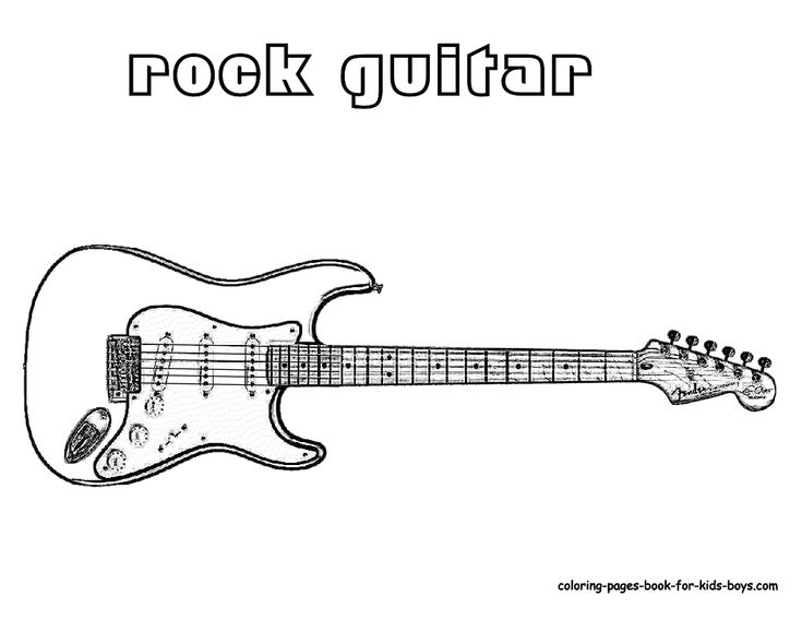 42 best Guitar images on Pinterest Guitar Coloring pages and Art is
