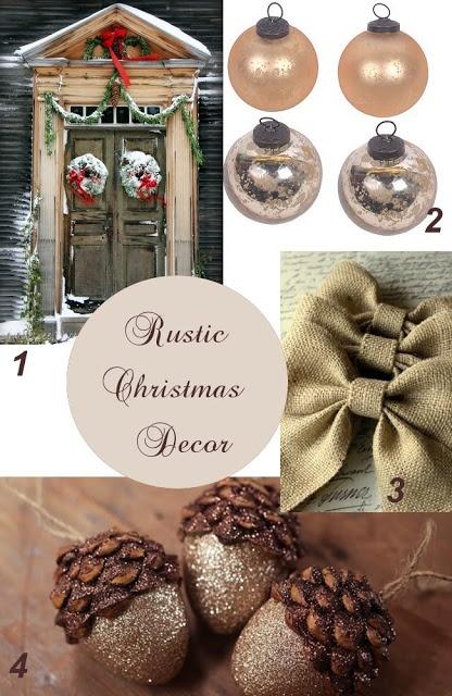 Rustic Christmas Decorating Ideas #ChristmasDecor #Christmas #Arizona