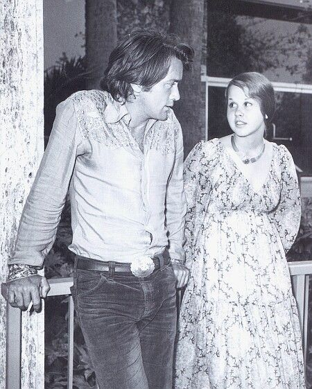 """Martin Sheen and Linda Blair in """"Sweet Hostage."""" It was the first movie I had seen him in and I love him still."""