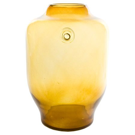Crafted by hand, this stunning glass vase features a traditional design and coloured finish that may vary slightly between products. The perfect focal point ...
