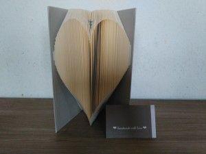 Bücher falten und schneiden