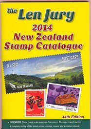 Latest N.Z. Len Jury Stamp Catalogue 2014 Out Now