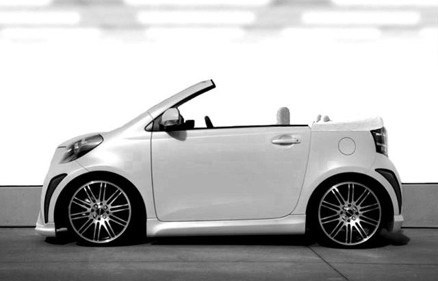 Scion IQ convertible