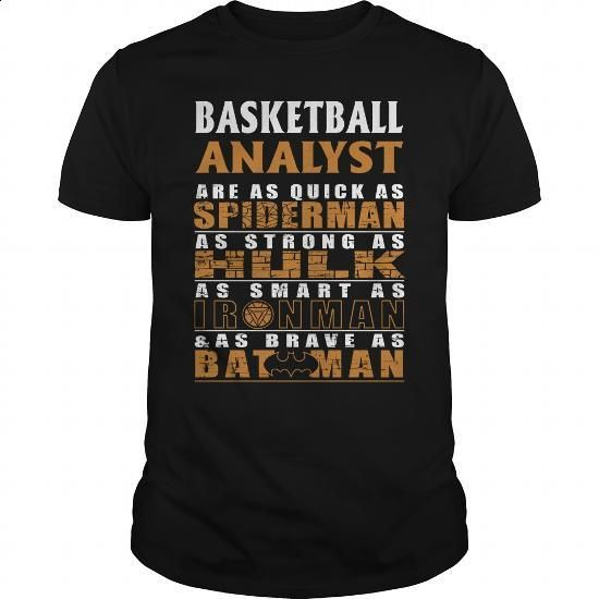 BASKETBALL ANALYST - BATMAN - #shirts for men #t shirt websites. CHECK PRICE => https://www.sunfrog.com/LifeStyle/BASKETBALL-ANALYST--BATMAN-Black-Guys.html?60505