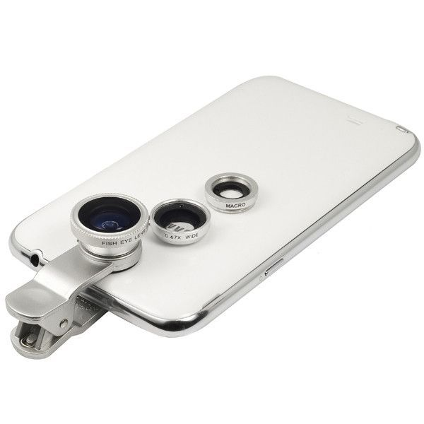 Camera Kit - Universal 3 in 1 - Silver #weeklydeals #lenses
