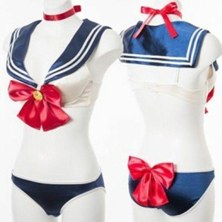 Cosplay Anime Sailor Moon Sexy Underwear Bra and Panty Set 20th Anniversary | eBay