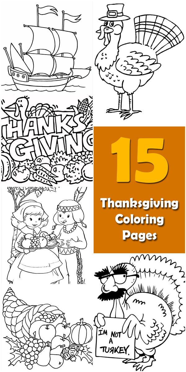 Learn about the origin and history of 15 Printable Thanksgiving Coloring Pages, or browse through a wide array of 15 Printable Thanksgiving Coloring Pages-theme