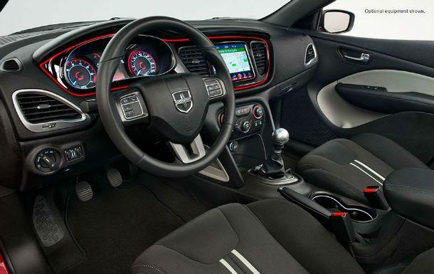 2013 Dodge Dart SXT Interior