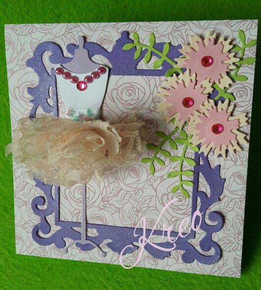 Card per una piccola ballerina