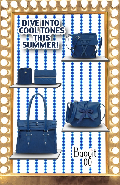 Its our new blue collection!