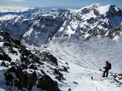 Toubkal - Snow in Morocco