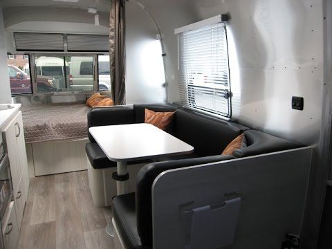 Walk Through 2015 Airstream Sport 22FB Bambi Small Camping RV Travel Trailer Caravan For Sale - YouTube