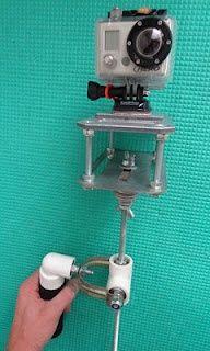 GoPro and DSLRs DIY Steadicam (camera