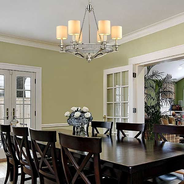Eye Catching Contemporary Chandeliers For Dining Room With Images
