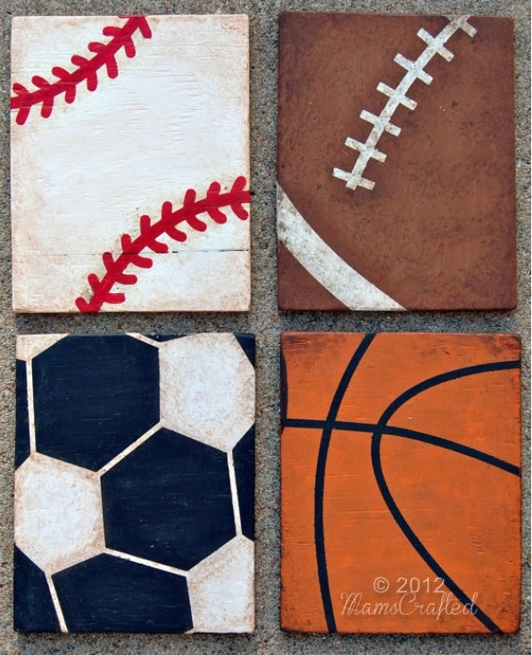 Sports painting