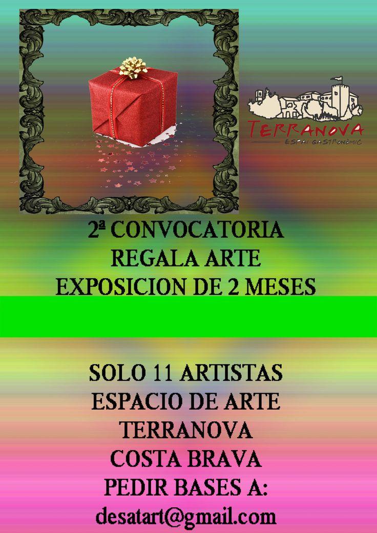 Oportunida exposición de 2 meses, cada artista con 2 obras a exponer , económico, arriba el arte