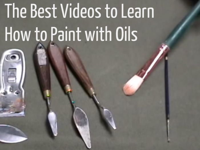 The Best Videos to Learn How to #Paint with Oils - Craftfoxes BTW, check out this FREE AWESOME ART APP for mobile: http://artcaffeine.imobileappsys.com/ Get Inspired!!!