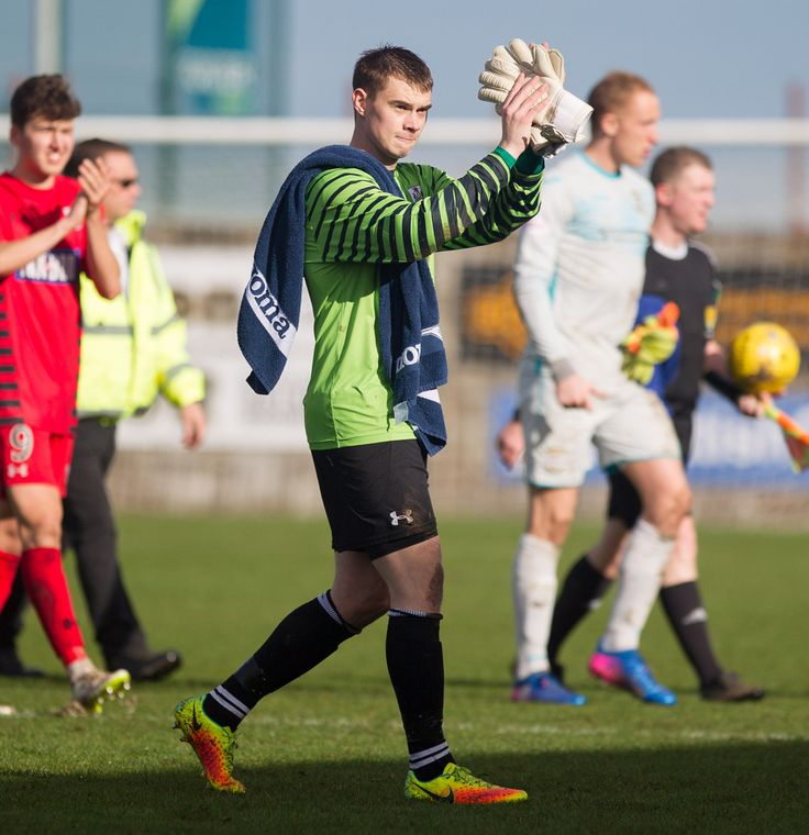 Queen's Park's Wullie Muir acknowledges the fans after the Ladbrokes League One game between East Fife and Queen's Park