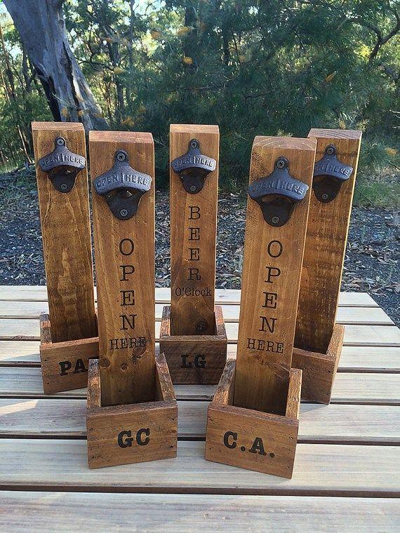 beer bottle opener bottle cap catcher craft by. Black Bedroom Furniture Sets. Home Design Ideas