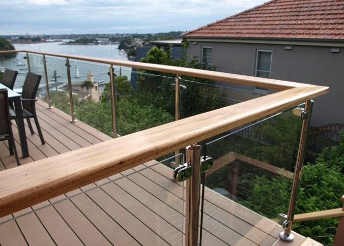 Image result for glass balustrade around 2m high alfresco