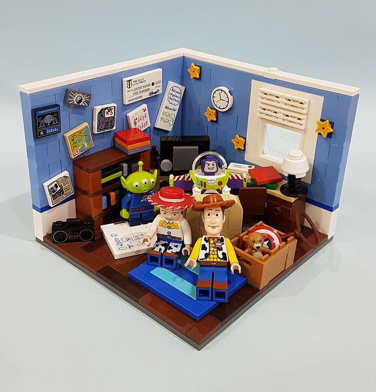 Toy Story   by Angela's brick
