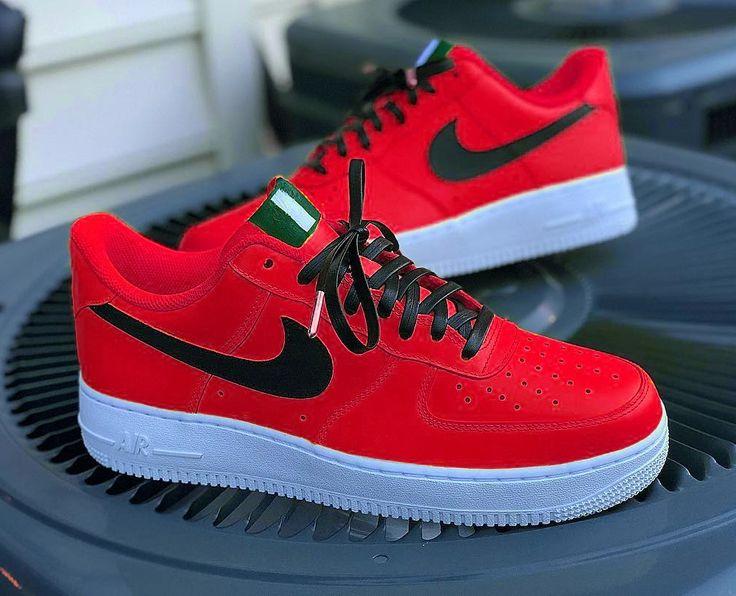Top 10 Nike Air Force 1 Custom Kicks | Nike air shoes, Nike shoes ...